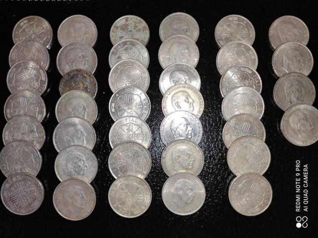 Monedas De 100 Ptas De Plata