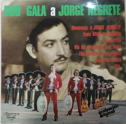 LP 1971 DÚO GALA A JORGE NEGRETE - foto 1