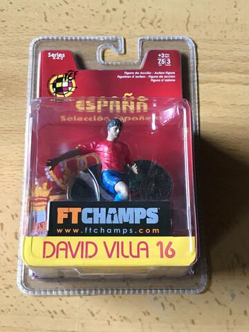 Figura Pvc Ftchamps David Villa