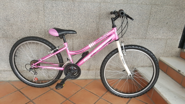 Bicicleta De Montaña 24 Pulgadas Nueba