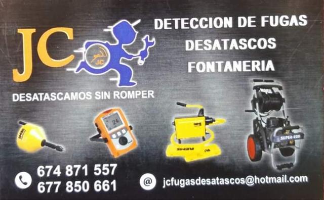 JC DESATASCOS Y FUGAS DE AGUA - foto 1
