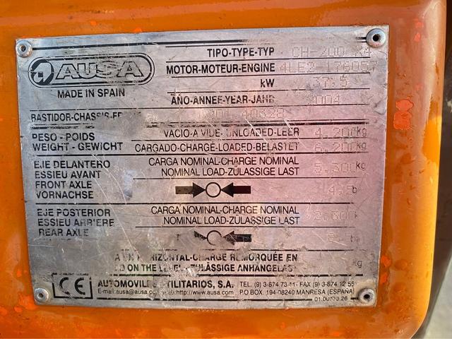CARRETILLA AUSA CH200X4 TODOTERRENO - foto 7