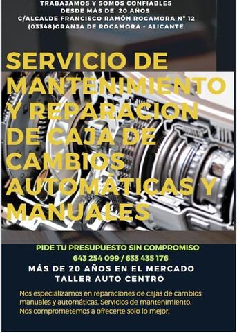 REPARACION DE CAJA DE CAMBIO - foto 1