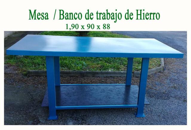 Banco De Trabajo / Mesa De Taller