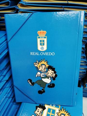Carpeta Archivadora Real Oviedo #