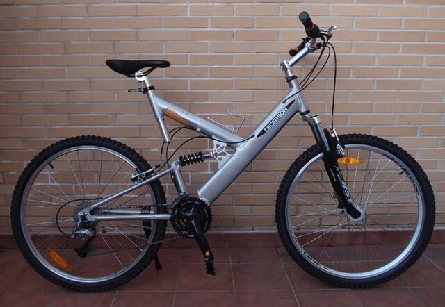 """Bicicleta Aluminio 26"""" Doble Suspensión"""