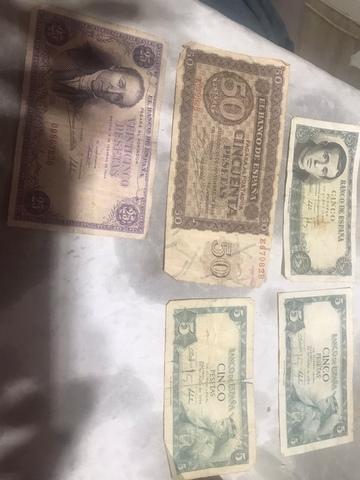 Vendo Billetes Antiguos Españoles