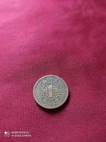 Moneda 1 Peseta De 1944
