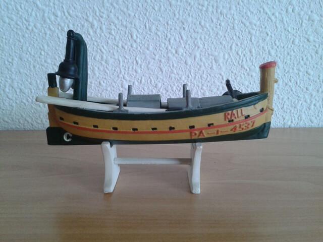 Barco Barca Pesca Sardina Miniatura
