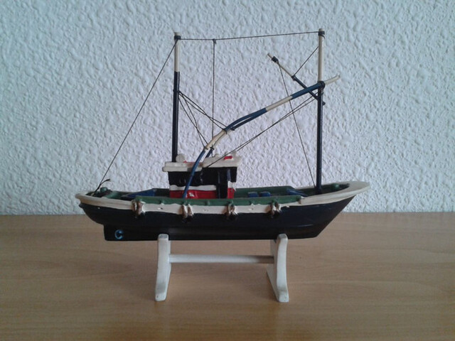 Barco Pesca Cantabrico Atunero Miniatura