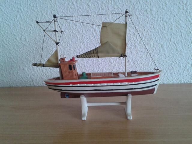 Barco Pesca Pesquero Dos Mastiles