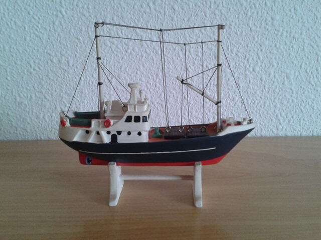 Barco Pesca Altura Miniatura