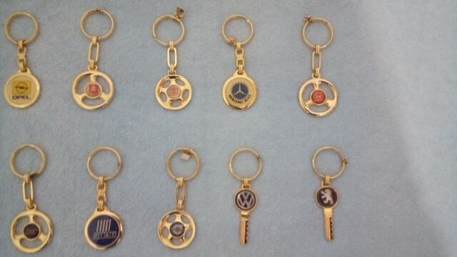 Coleccion Llaveros Antiguos De Automovil
