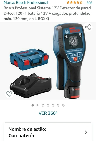 Detector Bosch De Pared
