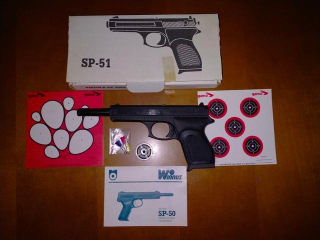 Pistola Aire Comprimido Winnus