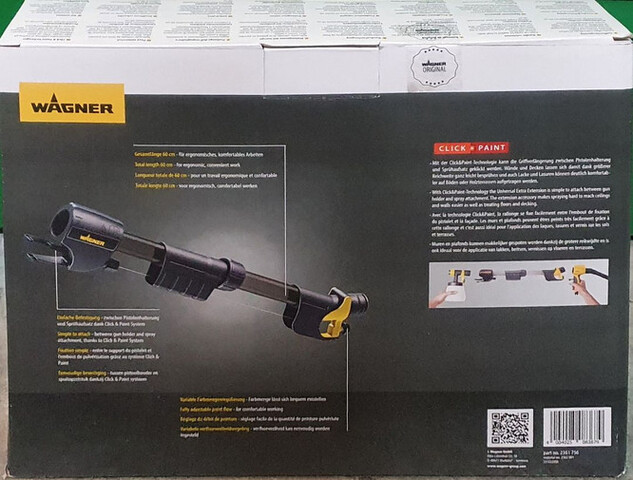 Extensión Para Pistola Pintar Nuevo