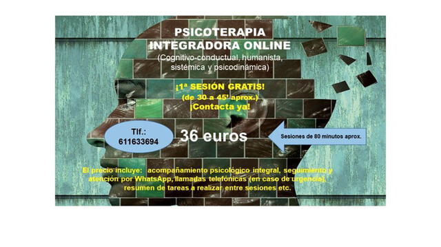 PSICOTERAPEUTA (PSICÓLOGA) ONLINE - foto 3