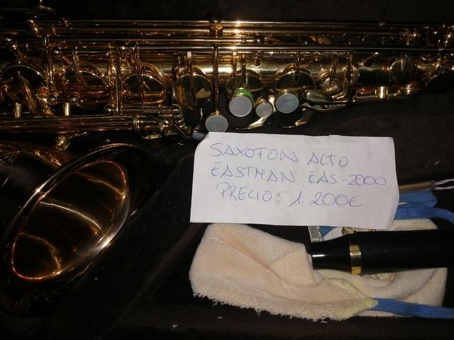 SAXOFÓN ALTO,  CASTMAN 2000 - foto 1