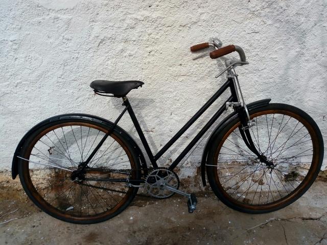 Bicicleta Llantas De Madera