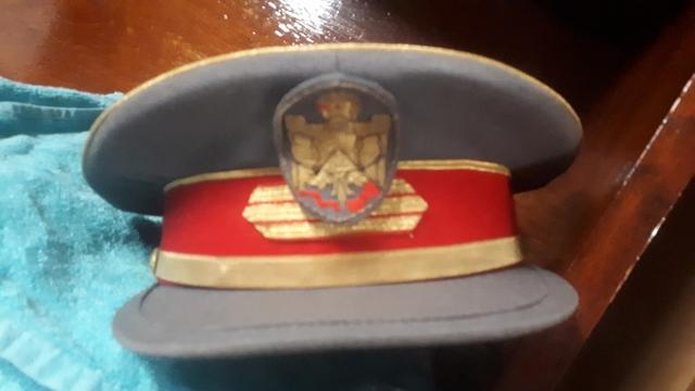 Gorra Auténtica De La Policía Armada