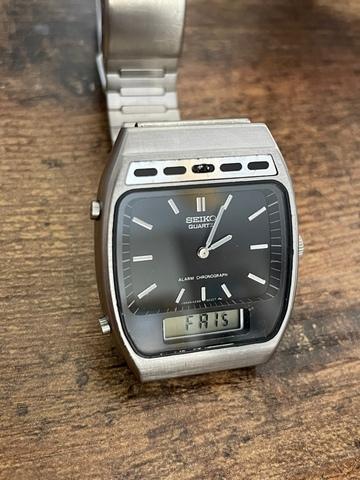 Reloj Seiko Ana-Digi 1981