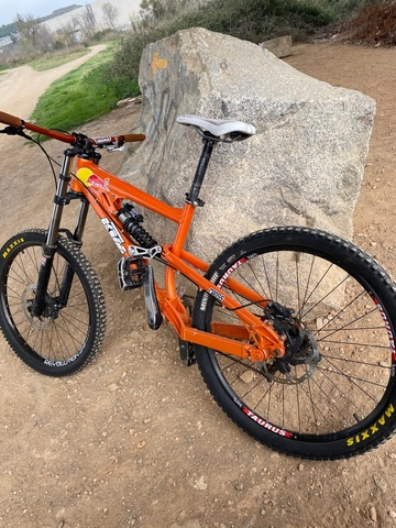 Bicicleta De Descenso Ktm Aphex Edición