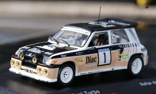 Renault 5 Maxi Turbo Rallye De Var 1986