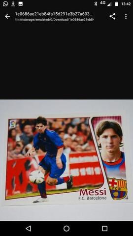Messi Coloca Liga Este 2004 Original