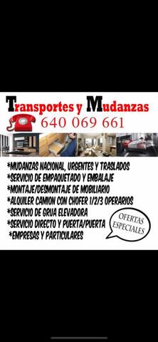 MUDANZAS, TRANSPORTES - foto 1