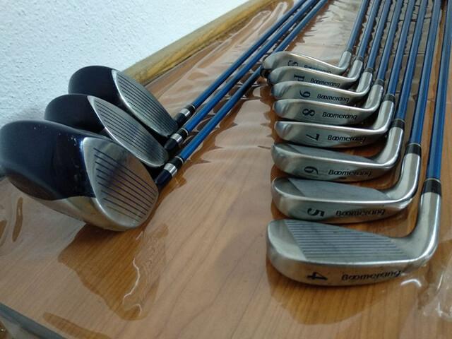 Palos De Golf Del 4 Al P,  1, 3, 5 Maderas