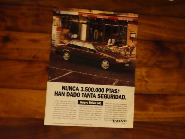 Anuncio Prensa Volvo 940