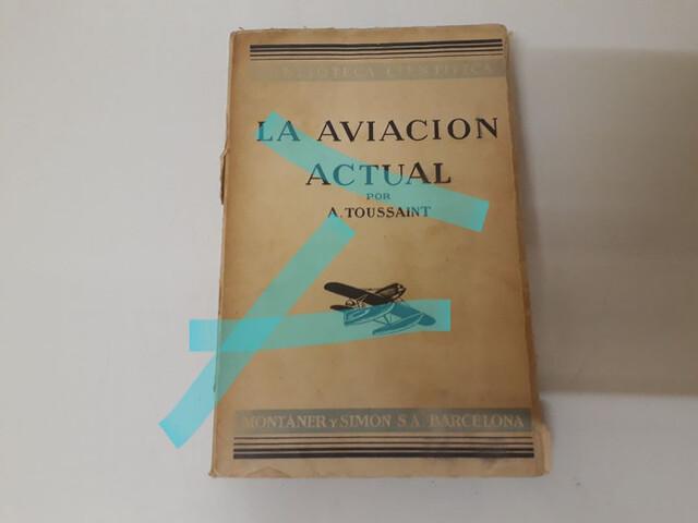 Libro Aviación Antiguo