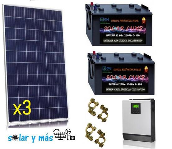 Kit Completo Energia Solar 3000W Ocasion