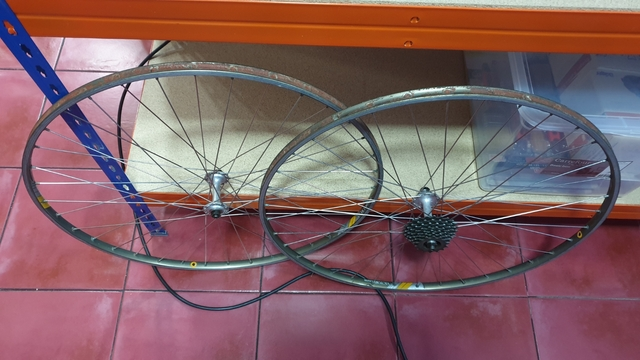 Llantas Bicicleta Ciclista Clásica