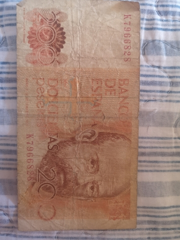 Billetes 200 Pesetas