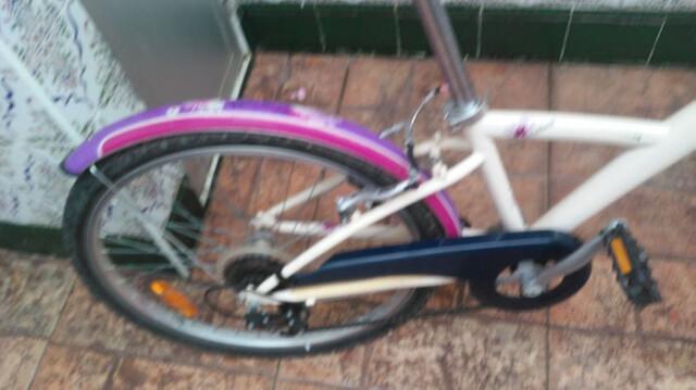 Bicicleta Niña 24 Pulgadas Con Su Cesta