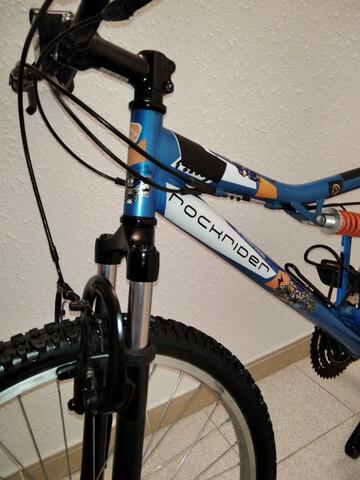 Bici Junior De 24.  Mtb Full Suspencion.