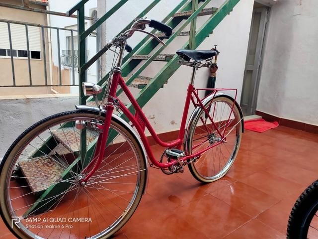 Bicicleta Bh Gacela Frenos De Varillas