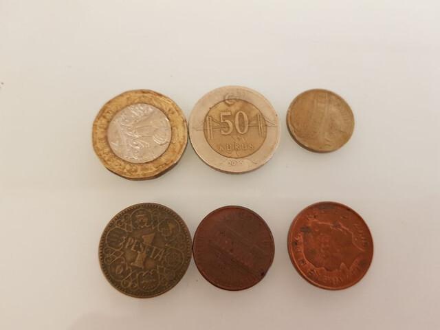 6 Monedas
