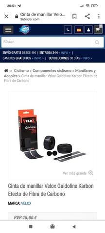 Cinta Manillar Carretera Velox Nueva