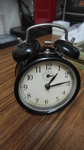 Reloj Despertador De Cuerda