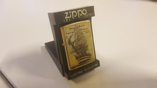 Zippo Barco De Vela