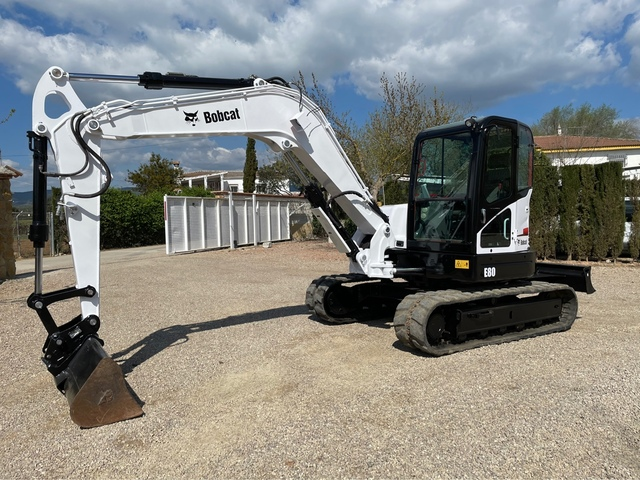 BOBCAT E80 IMPECABLE - foto 1