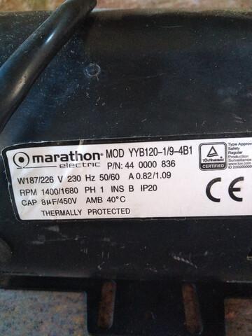 Motor Electrico Marathon