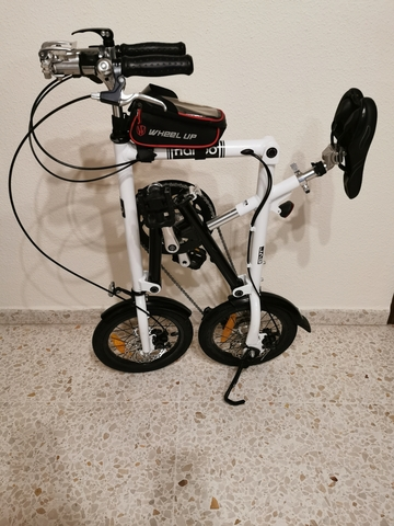 "Bicicleta Plegable De Aluminio \""Nanoo\"""