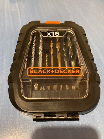 Juego Brocas Black&Decker
