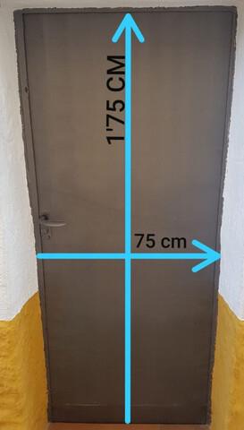 Puerta De Chapa Exterior