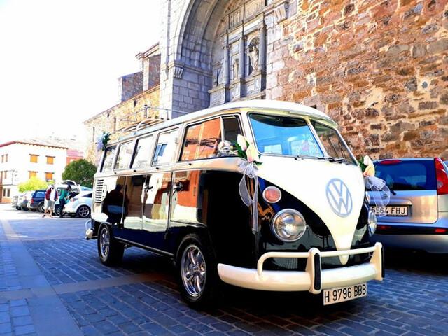 ALQUILER VW T1 PARA BODAS - foto 1
