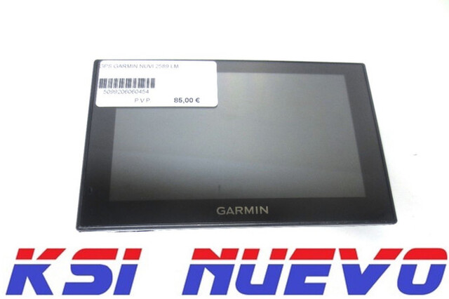 NAVEGADOR GPS GARMIN NUVI 2589 LM - foto 1