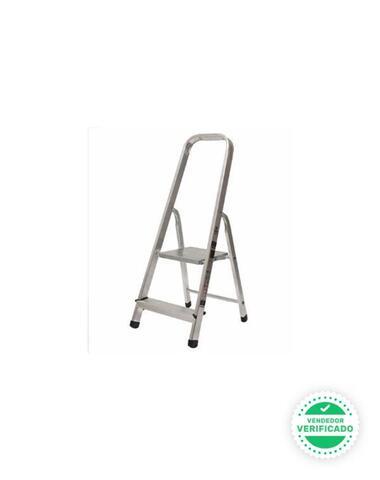 Escalera Tijera 2 Peldaños Aluminio